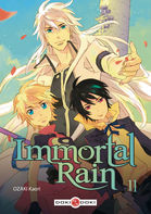 Couverture BD IMMORTAL RAIN