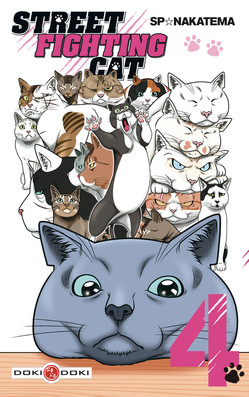 MANGA STREET FIGHTING CAT