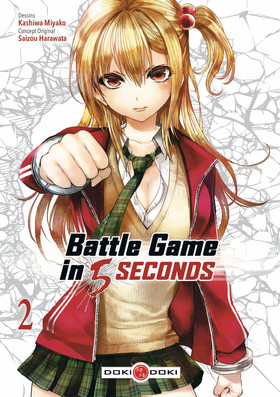 MANGA BATTLE GAME IN 5 SECONDS