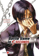 Couverture BD BATTLE GAME IN 5 SECONDS