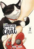 Couverture BD Gameuse et son chat (La)
