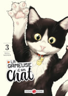 Couverture BD Gameuse et son chat (La)