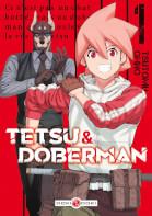 Couverture BD Tetsu & Doberman