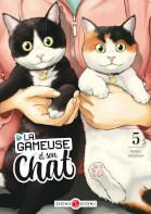 Couverture Gameuse et son chat (La)